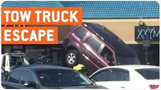 Trying To Escape The Tow Truck | Getting Towed