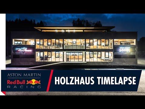 Red Bull F1 Energy Station Construction Timelapse