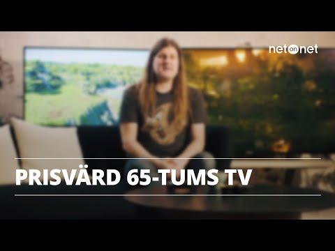 Prisvärd 65-tums TV   NetOnNet Klubbhyllan