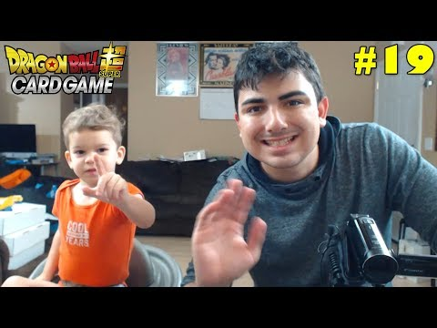 Super Saiyan Sibling Saturday! | Opening Dragon Ball Super Galactic Battle Packs With Lukas #19