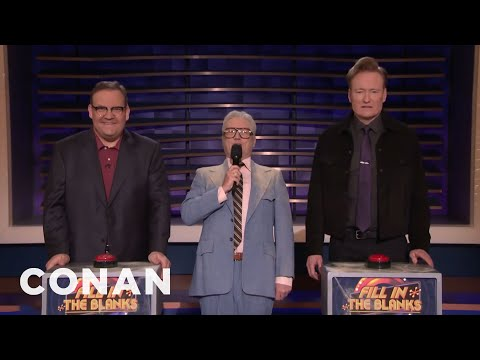 The '80s Game Show Host Returns To CONAN - CONAN on TBS