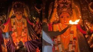 Warangal Badrakali Ammavari Harathi | Devi Navaratri 2020 - TFPC
