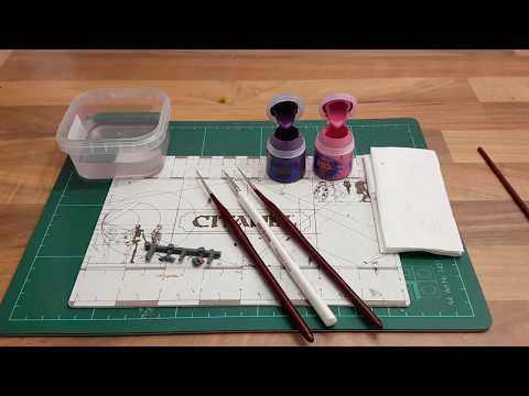 Warhammer / Tabletop für Anfänger HD★ Detail Pinsel, erklärt/Funktion/ Besonderheit ★ How to paint