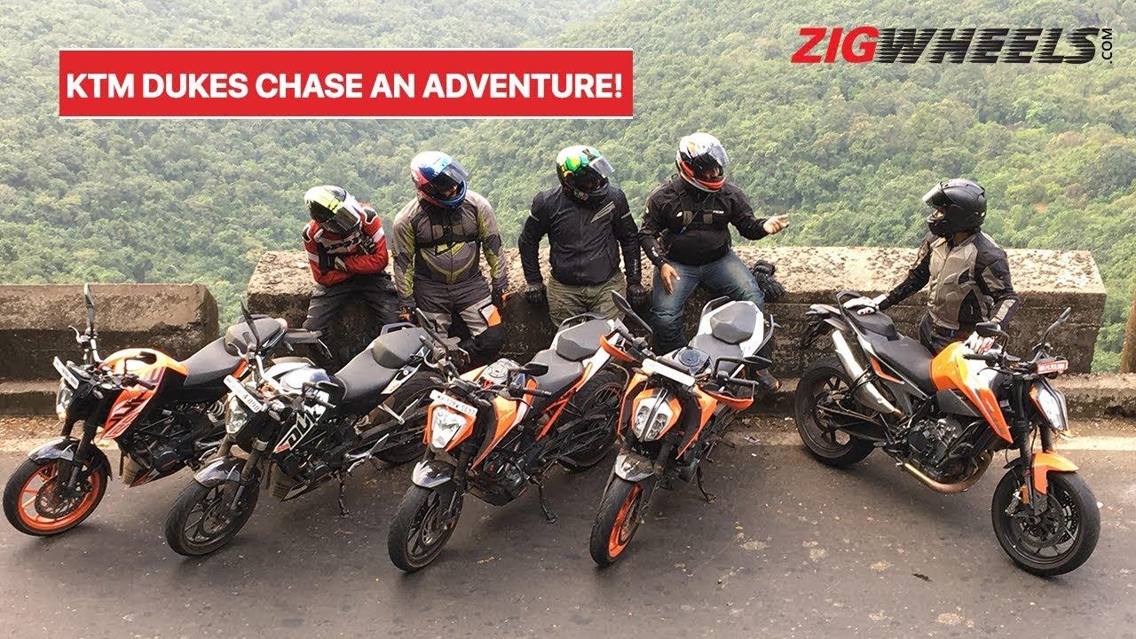 KTM 125, 200, 250, 390, 790 Duke On A Road Trip To Meet The 390 Adventure