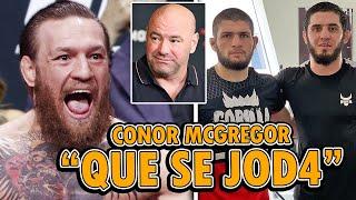 Conor McGregor ATACA a UFC y Dana White, Islam Makhachev FUERA de UFC Vegas 14, DosAnjos vs Chandler