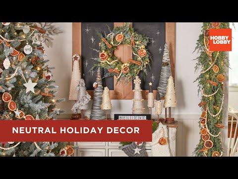 Neutral Holiday Decor | Hobby Lobby®