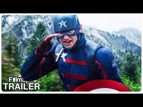 "Movie Trailer : THE FALCON AND THE WINTER SOLDIER ""New Captain America Fight"" Trailer (NEW 2021) Superhero Series HD"