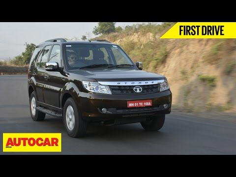 2015 Tata Safari Storme | First Drive | Autocar India