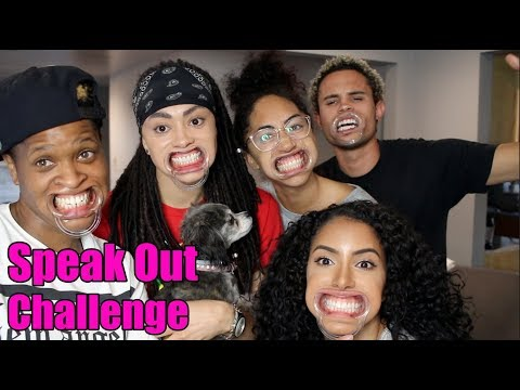 connectYoutube - SPEAK OUT CHALLENGE!! (w/Shan Boody, Ava Pearl, Simone & Jared Brady)
