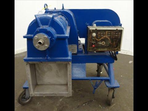 Used- Alfa-Laval VS 160 G-K Pusher Centrifuge - stock # 46226001