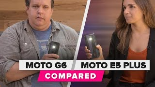 Moto G6 and E5 Plus budget phone comparison