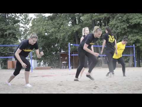 Сборы-2019. Тренировка на песке