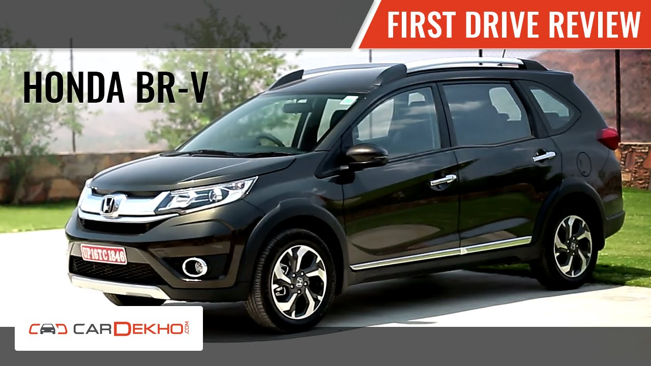Honda BR-V | First Drive Review