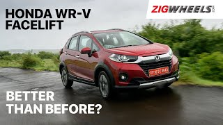 🚗 Honda WR-V Facelift Review | What exactly has changed? | Zigwheels.com