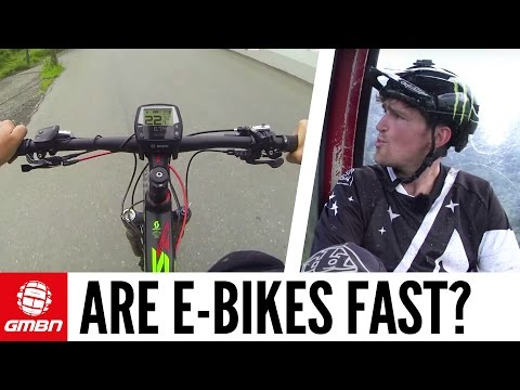 "Are E-Bikes Fast"" With Brendan Fairclough"