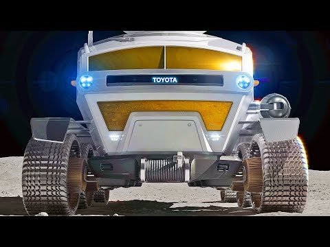 Toyota Moon Car ? Pressurized Rover for Space Exploration