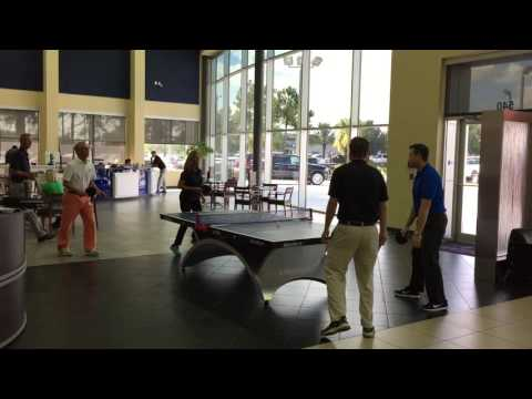 Bozard Ford Lincoln Table Tennis Showroom Competition