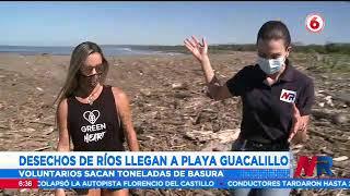 Jornada de limpieza en Playa Guacalillo