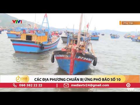 Miền Trung lại đối mặt với mưa lớn do ảnh hưởng của bão số 10 | VTV24