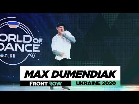 Max Dumendiak | FrontRow | World of Dance Ukraine 2020 | #WODUA20