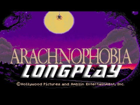 Arachnophobia (Commodore Amiga) Longplay