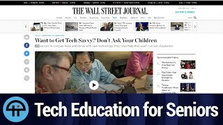 Tech Education for Seniors