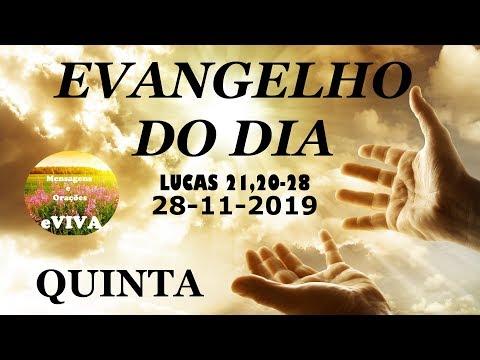 EVANGELHO DO DIA 28/11/2019 Narrado e Comentado - LITURGIA DIÁRIA - HOMILIA DIARIA HOJE