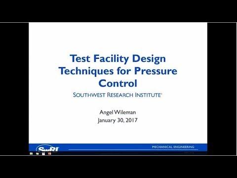 Test Facility Design Techniques for Pressure Control