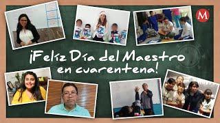 Día del Maestro. Coronavirus cambió enseñanza y retó a maestros