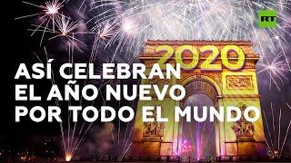 Así se celebró la llegada de Año Nuevo en diferentes lugares del planeta   RT Play