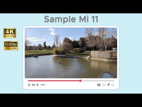 Sample di registrazione in 4K 60fps da X …