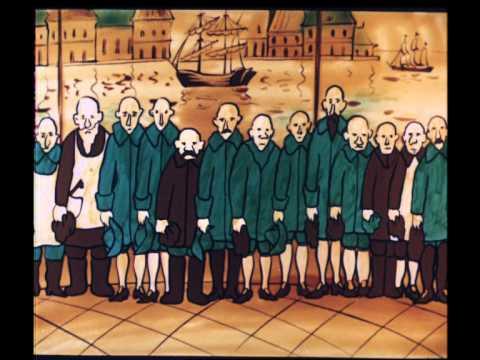 Кадр из мультфильма «Шут Балакирев»