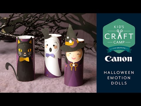 Halloween Emotion Doll | Kid's Craft Camp | Canon Live
