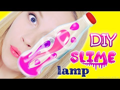 How To Make A DIY Slime Lava Lamp Using Coca-Cola Can and Bottle – DIY Slime Lamp