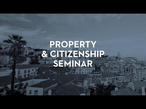 Lisbon Property & European Citizenship Seminar - London