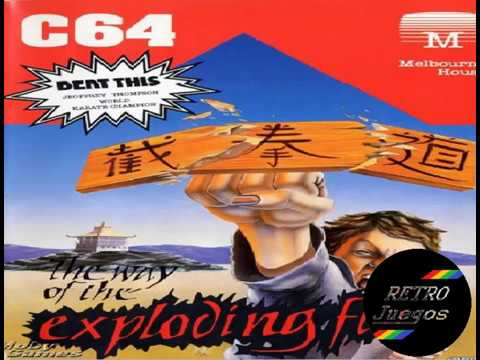 Exploding Fist y Fist + para Commodore 64 - Review de RETROJuegos de Fabio Didone