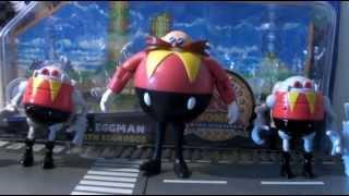 Review Classic Dr Robotnik avec les deux Eggrobos