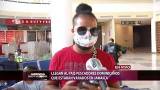 Llegan al país pescadores dominicanos que estaban varados en Jamaica