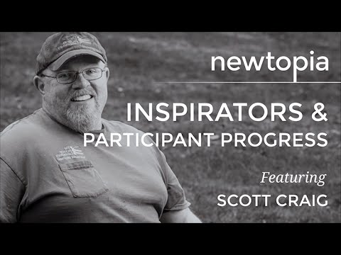 Newtopia - Inspirators and Participant Progress