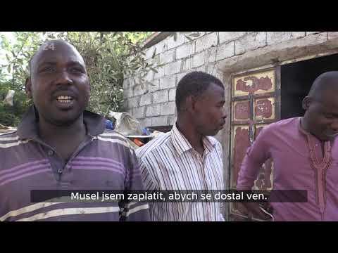 REPORTÉŘI ČT - Kutilova M., Klicperova L. - Mezi migranty v Libyi