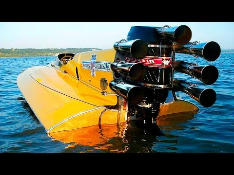 THIS SUPER BOAT IS FASTER THAN BUGATTI VEYRON