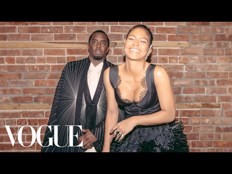 Watch Sean Combs and Cassie Get Ready for the Met Gala | Met Gala 2017