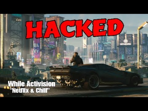 CD Projekt HACKED! While Activision On The Beach Sipping Umbrella Drinks! My Thoughts   COD Cold War