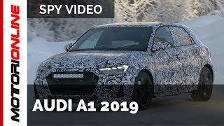 Audi A1 2019 – Spy Video