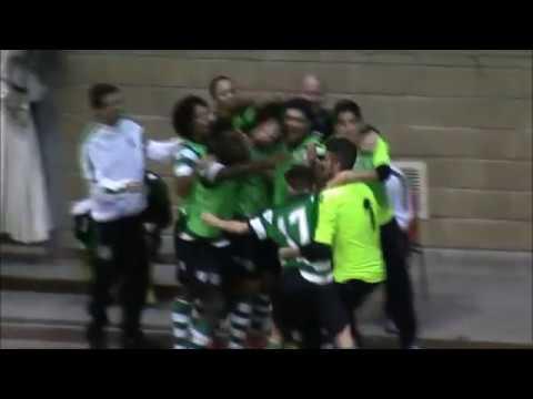 16/17 Golos Jornada 10 - Campeonato Nacional Sub20 - SCP 13 vs GEJUPCE 1