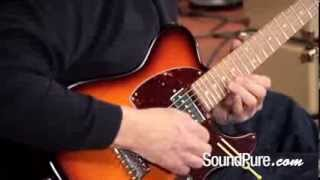 Anderson T Classic Desert Sunset Electric Guitar Demo