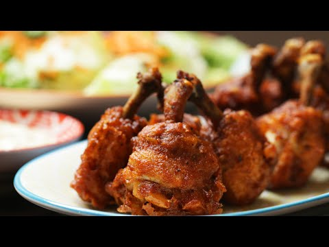 This Chicken Lollipop Hack Makes Wings Juicier And Easier To Eat