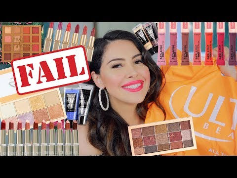 DRUGSTORE MAKEUP & ULTA HAUL 2019! NEW MAKEUP, AFFORDABLE (SWATCHES)