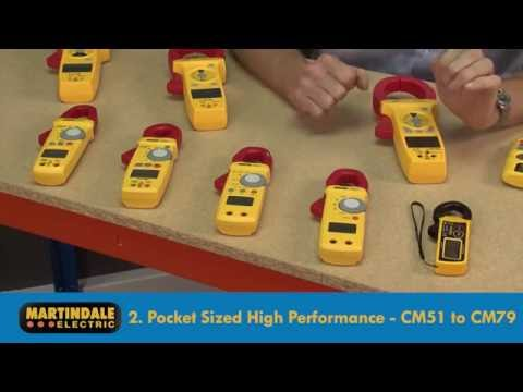 Martindale CM Series Clamp Meter choices