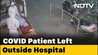 COVID-19 Patient's Body Dumped Outside Bhopal Hospital. Shocker On CCTV - NDTV